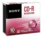 Sony Pack 10 CD-R 700 MB 10 x (10CRM80SS)