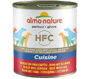 Almo Nature Classic Almo Nature HFC 6 x 280 g / 290 g pour chien - bœuf, jambon (290 g)