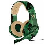 Trust GXT 310D Jungle Camo Casque Gaming