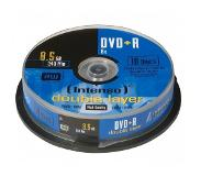 Intenso 1x10 Intenso DVD+R 8,5GB 8x Speed, Double Layer Cake box