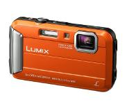 "Panasonic Lumix DMC-FT30 Appareil-photo compact 16.1MP 1/2.33"" CCD (dispositif à transfert de charge) 4608 x 3456pixels Orange"