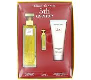 Elizabeth Arden 5th Avenue Gift Set 125 ml Eau De Parfum Spray + 3 ml Mini + 100 ml Body Lotion --