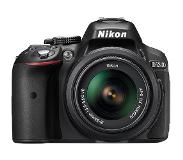 Nikon D5300 + AF-S DX NIKKOR 18-55mm Kit d'appareil-photo SLR 24,2 MP CMOS 6000 x 4000 pixels Noir
