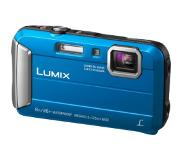 "Panasonic Lumix DMC-FT30 Appareil-photo compact 16,1 MP 1/2.33"" CCD (dispositif à transfert de charge) 4608 x 3456 pixels Bleu"