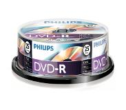 Philips Pack 25 DVD-R 4.7 GB 16x