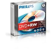 Philips Pack 5 DVD+RW 4.7 GB 4x