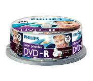 Philips Pack 25 DVD-R 4.7 GB 16x Imprimable