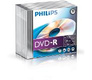 Philips Pack 10 DVD-R 4.7 GB 16x