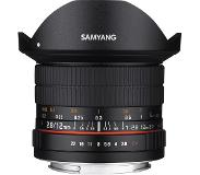 Samyang Fish-Eye Samyang 12mm F2.8 AS NCS pour Fuji X