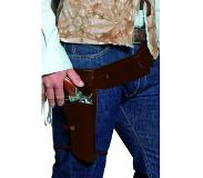 Smiffy'S Authentiques holster et ceinture de western, holster simple