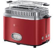 Russell Hobbs Retro Ribbon Grille-pain Rouge