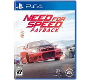 Electronic Arts Need for Speed : Payback PS4
