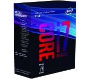 Intel Core   i7-8700K Processor (12M Cache, up to 4.70 GHz) 3.7GHz 12Mo Smart Cache Boîte processeur