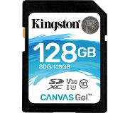 Kingston Canvas Go! mémoire flash 128 Go SDXC Classe 10 UHS-I