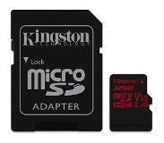 Kingston Canvas React mémoire flash 32 Go MicroSDHC Classe 10 UHS-I