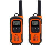 Alecto FR-300 radio bidirectionnelle 16 canaux Noir, Orange