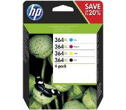 HP 364XL Pack Combo 4 Couleurs (N9J74AE)