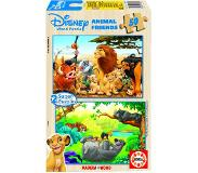 Educa Puzzles Animal Friends 2 x 50 pièces