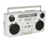 GPO Brooklyn HiFi CD player Chrome, Argent
