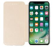 Azuri bookletcase - goud - iPhone 8
