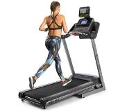 Capital Sports Infinity Track 2.0 Tapis de course 4,5 ch Bluetooth appli Kinomap LCD - gris