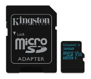 Kingston Canvas Go! mémoire flash 32 Go MicroSDHC Classe 10 UHS-I