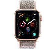 Apple Watch Series 4 44 mm Bracelet sportif Or Aluminium/Rose Nylon