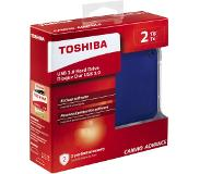 Toshiba Disque dur externe 2 TB Canvio Advance Bleu