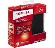 Toshiba Disque dur externe 2 TB Canvio Advance Nior