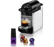 Nespresso Magimix Pixie M110-11326 Stainless Steel Dots freestanding Fully-auto Pod coffee machine 0.8L Black,Stainless steel