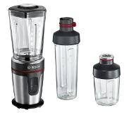 Bosch MMBM7G3M blender 0,6 L Mélangeur de table Noir, Chrome 350 W