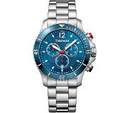Wenger Seaforce Chrono Quartz Montre-bracelet Male Acier inoxydable