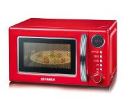 Severin MW 7893 micro-onde Built-in (placement) Micro-onde combiné 20 L 700 W Rouge