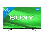 Sony TV SONY KD75XG8096BAEP 75 FULL LED Smart 4K