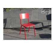 PIB Chaise scandinave Skole rouge