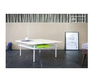 PIB Table basse scandinave Holly Blanche