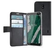 Azuri Cover Walletcase Magnetic Closure and Cardslot Nokia 1 Plus Noir