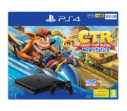 Sony Pack console PS4 500 Go + jeu Crash Team Racing Nitro-Fueled