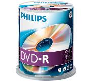 Philips 1x100 DVD-R 4,7GB 16x SP - High Speed