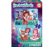Educa Puzzles Enchantimals 2 x 48 pièces