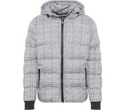 Urban Classics Veste d'hiver 'Hooded Check Puffer Jacket'