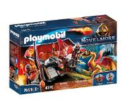 Playmobil Burnham Raiders et dragon doré PM70226