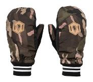 Volcom - Bistro Mitt Faded Army - Femme - Taille : L