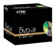 TDK Pack 10 DVD-R DL 8.5 GB 8 x
