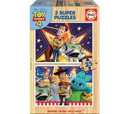 Educa Puzzle Toy Story 4 hout 2 x 25 pièces
