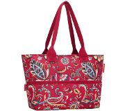 Reisenthel shopper e1 paisley ruby