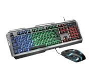 Trust Clavier + souris gamer GXT 845 QWERTY