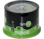 Maxell DVD+R 4,7GB 16X speed Spindle 50 pièces