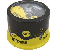 Maxell CD-R 80 52X speed Spindle 50 pièces