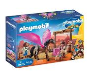 Playmobil Playmobil- The Movie Marla et Del avec Cheval ailé, 70074